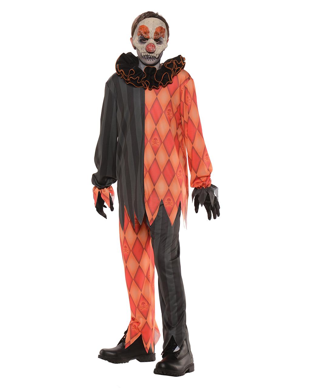 evil clown kinderkost m halloween kost m horror. Black Bedroom Furniture Sets. Home Design Ideas