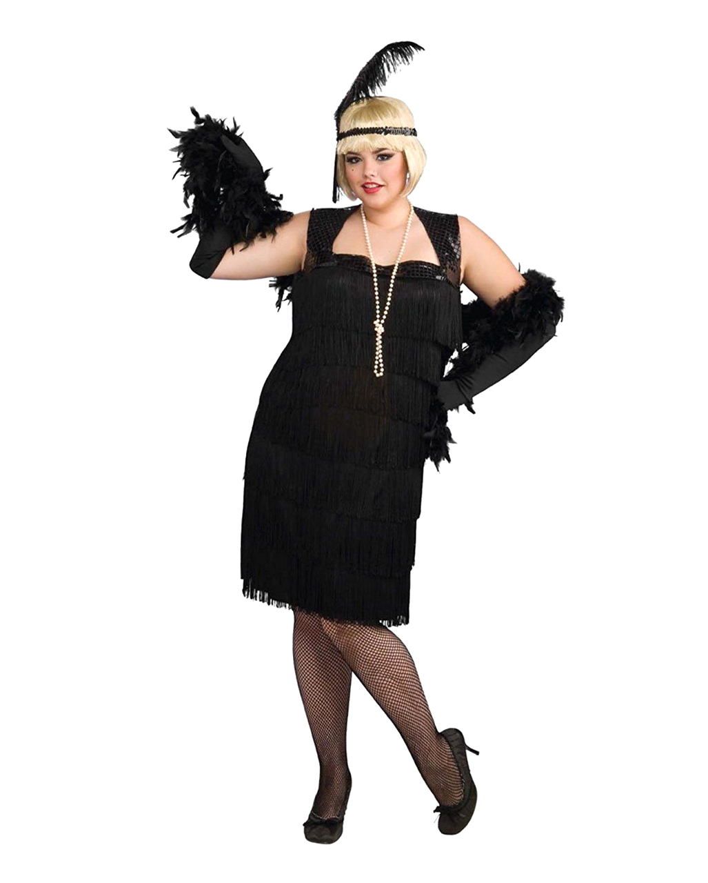 charleston flapper costume xlarge dress of 20s horror