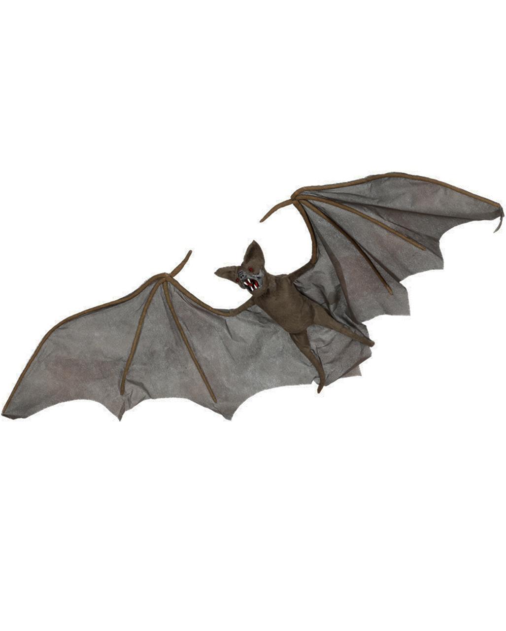 Fledermaus Mit Leuchtenden Augen Halloween Deko Horror Shop Com