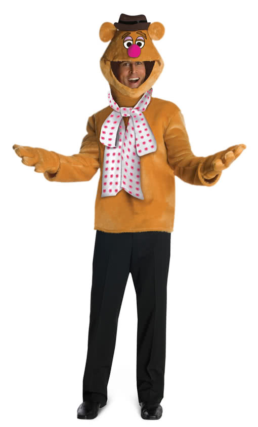 fozzie bear kost m lizenziertes muppet kost m horror. Black Bedroom Furniture Sets. Home Design Ideas