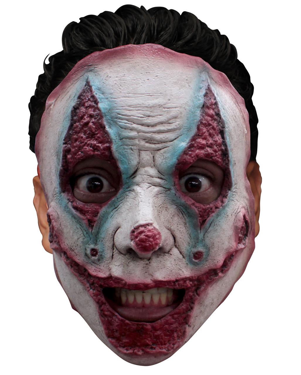 Räumungspreise klar in Sicht Junge Freak Show Clown Maske