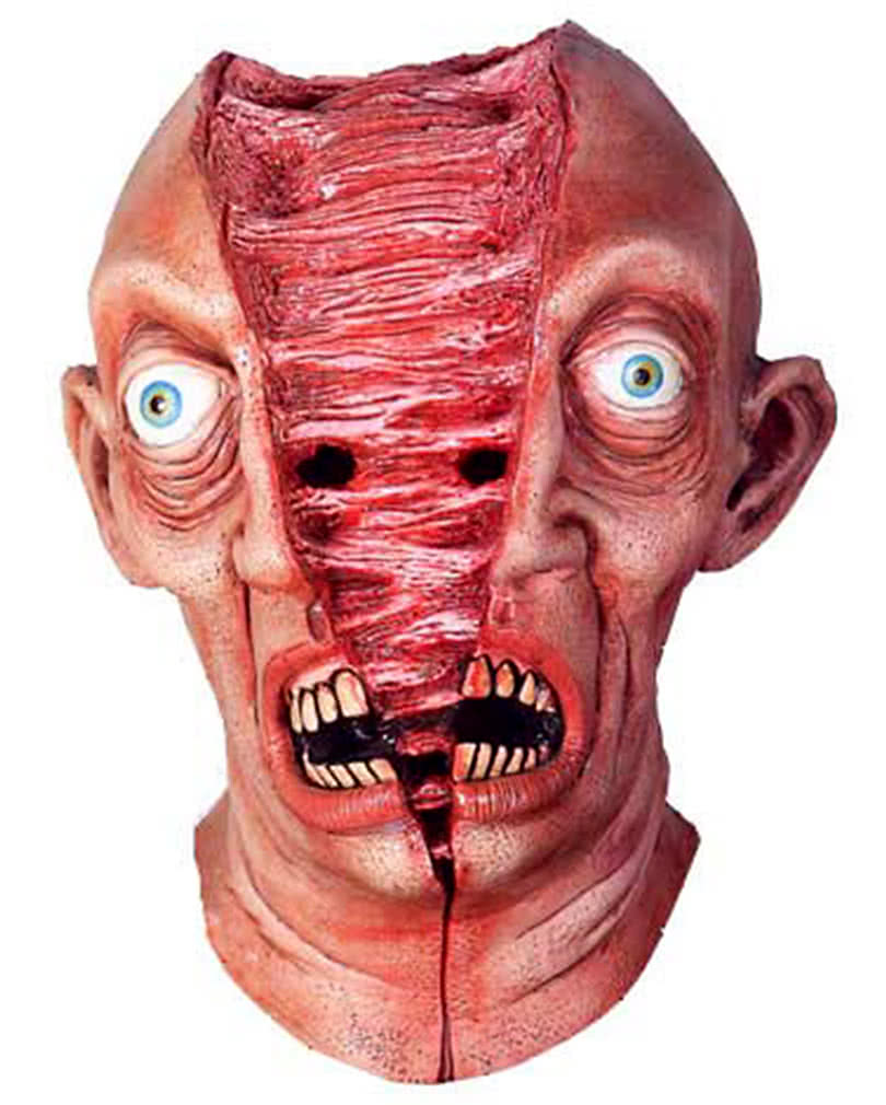 gespaltener kopf maske horror zubeh r horror. Black Bedroom Furniture Sets. Home Design Ideas