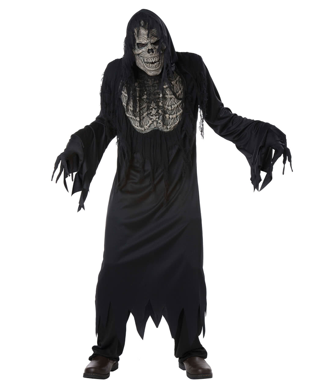 Corpse Zombie Walking Dead Ghoul Scary Fancy Dress Up Halloween Child Costume