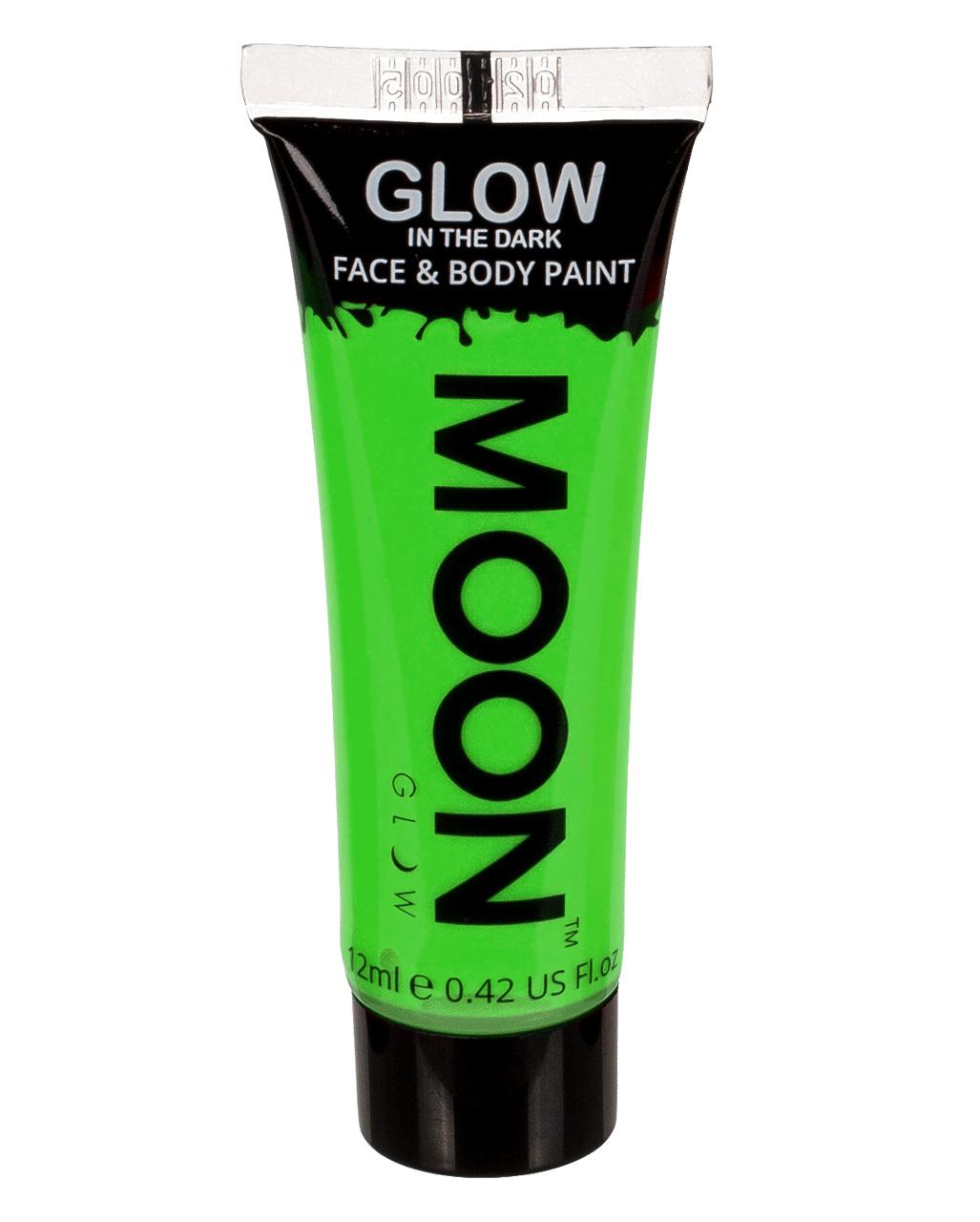 Glow In The Dark Make Up Neon Grun Fluoreszierend Horror Shop Com