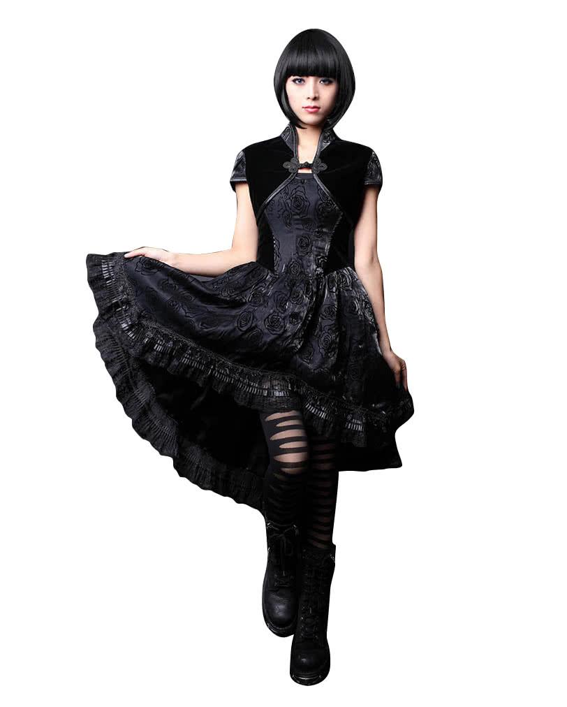 gothic lolita dress with bolero m gothic dress horror. Black Bedroom Furniture Sets. Home Design Ideas