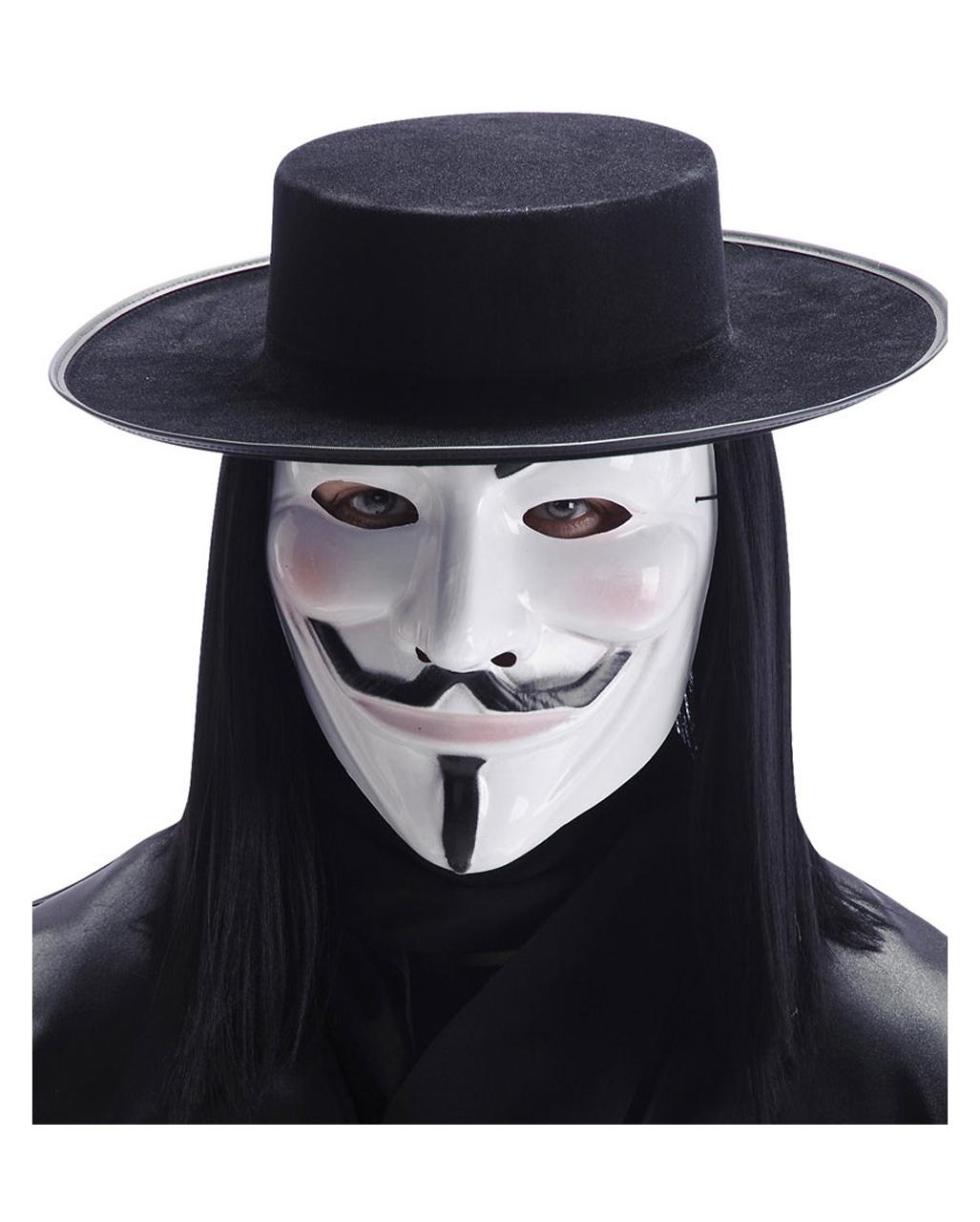 Guy Fawkes Mask ➤ V for Vendetta Mask purchase | horror-shop.com