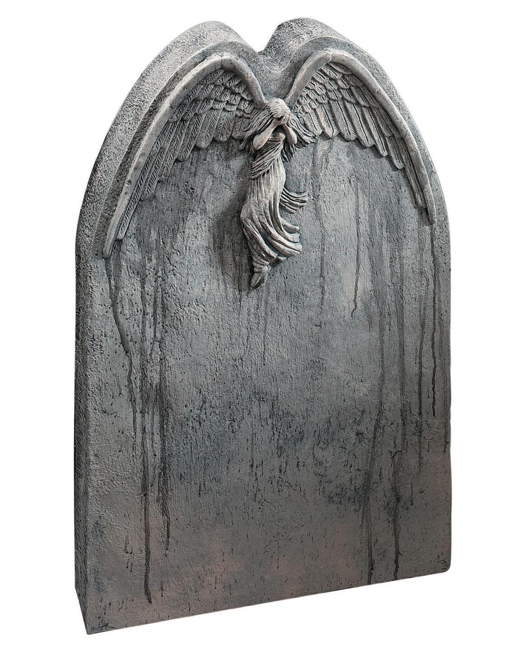 Falling Angel Gravestone Halloween Tombstone Horror Shop Com