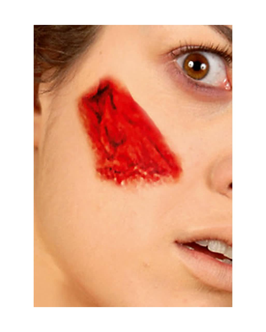 Tattoo fabric wound 7 halloween makeup horror for Halloween makeup tattoos
