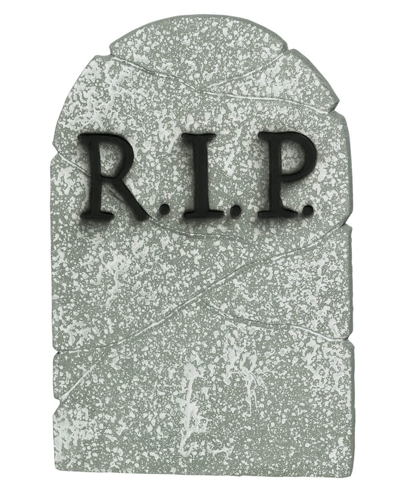 halloween grave stone rip evocative halloween decoration horror. Black Bedroom Furniture Sets. Home Design Ideas