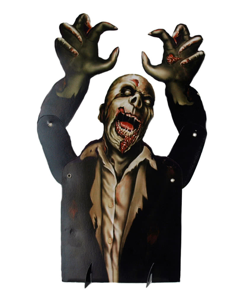 halloween tischdeko zombie zombie aufsteller als. Black Bedroom Furniture Sets. Home Design Ideas