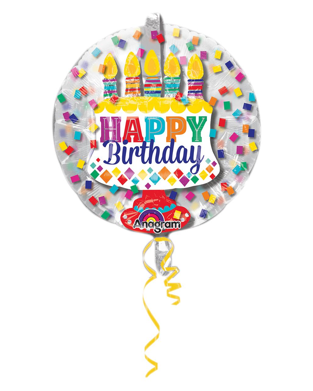 Tischfeuerwerk Eisfontäne Happy Birthday