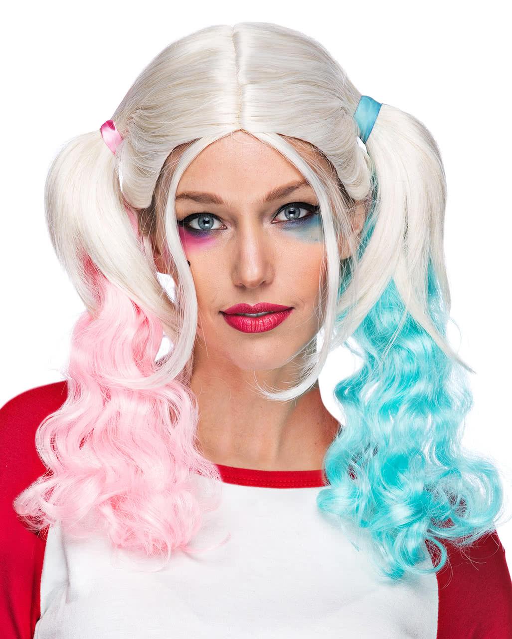 Harley Cosplay Wig   Suicide Halloween & Carnival Wigs ...