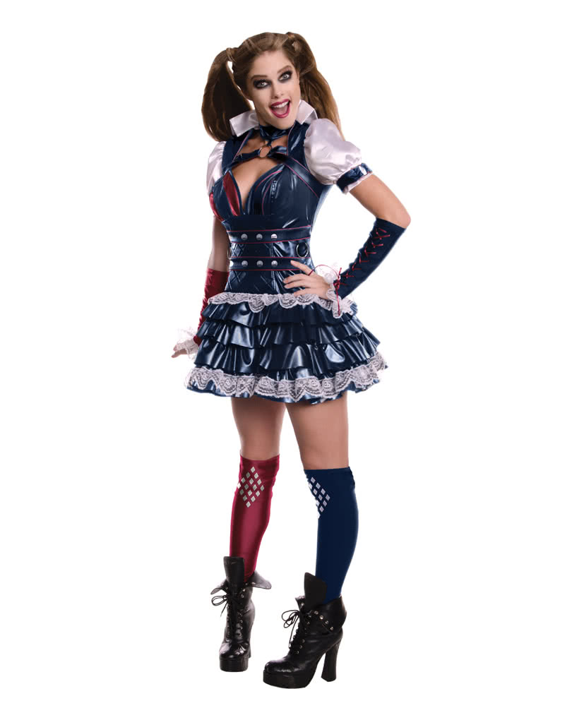 sexy harley quinn costume dc comics cosplay costume. Black Bedroom Furniture Sets. Home Design Ideas