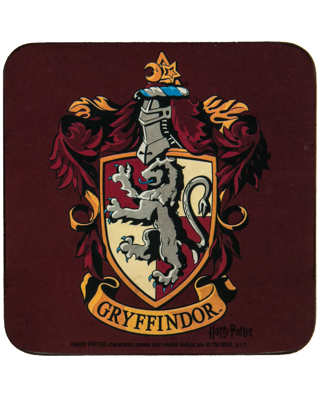 Harry Potter Gryffindor Coaster As A Present Horror Shop Com