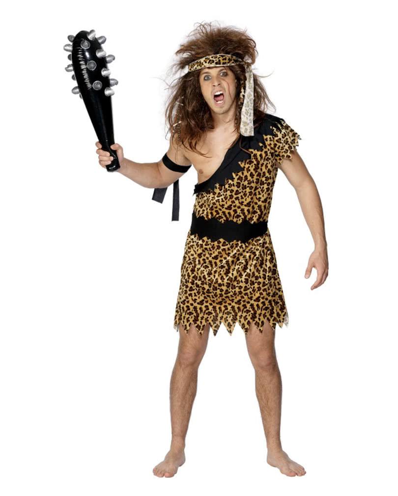Caveman Club Adults Mens Ladies Flintstone Stone Age Fancy Dress Outfit Accessor