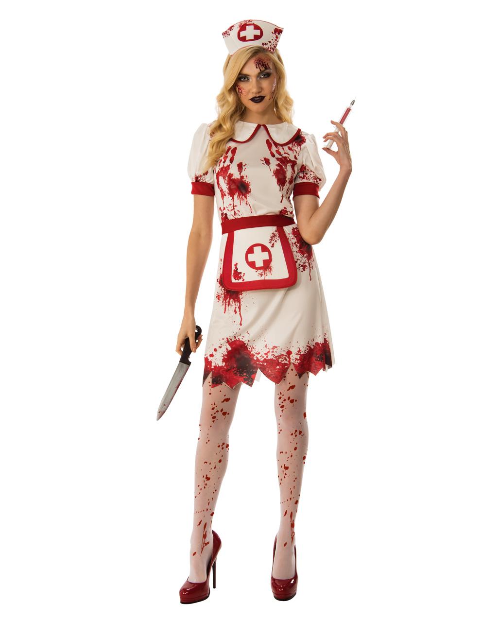 Krankenschwester Des Todes Kostum Fur Halloween Horror Shop Com