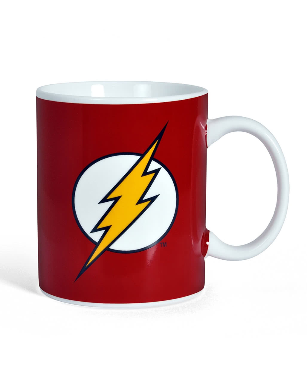 flash logo mug for superhero fans horror. Black Bedroom Furniture Sets. Home Design Ideas