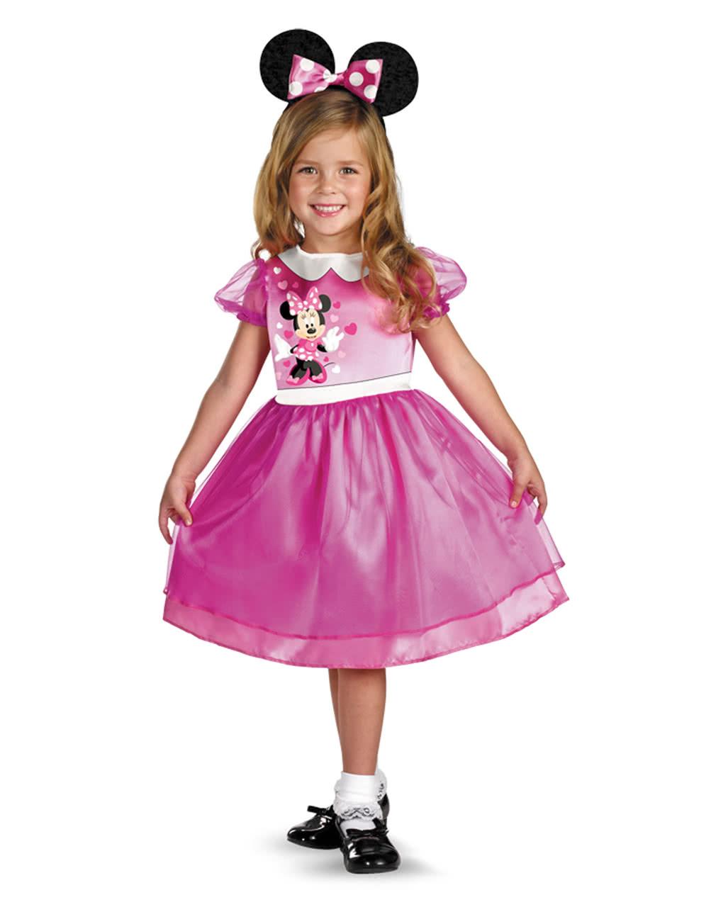 minnie mouse kost m pink kleinkinder disney kost me f r kinder horror. Black Bedroom Furniture Sets. Home Design Ideas