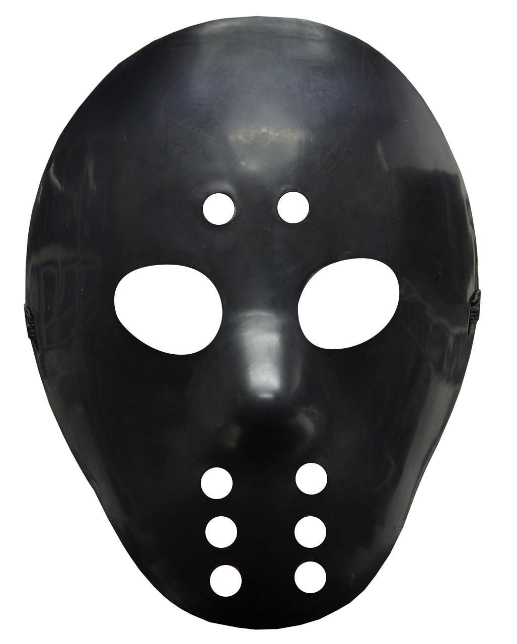 Jason Ice Hockey Mask Black For Halloween Horror Shop Com