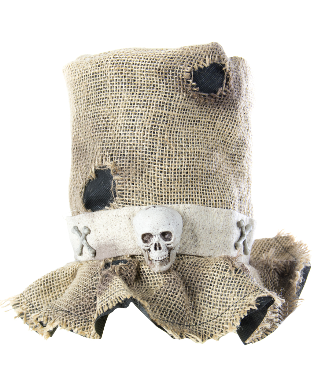 Jute Voodoo Cylinder | Costume Accessories | horror-shop com