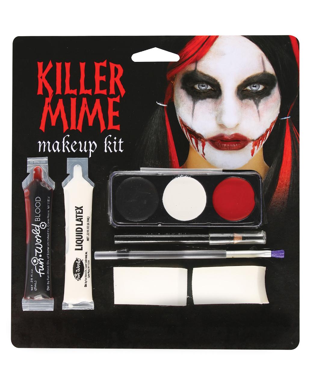 Mime Make Up Kit For