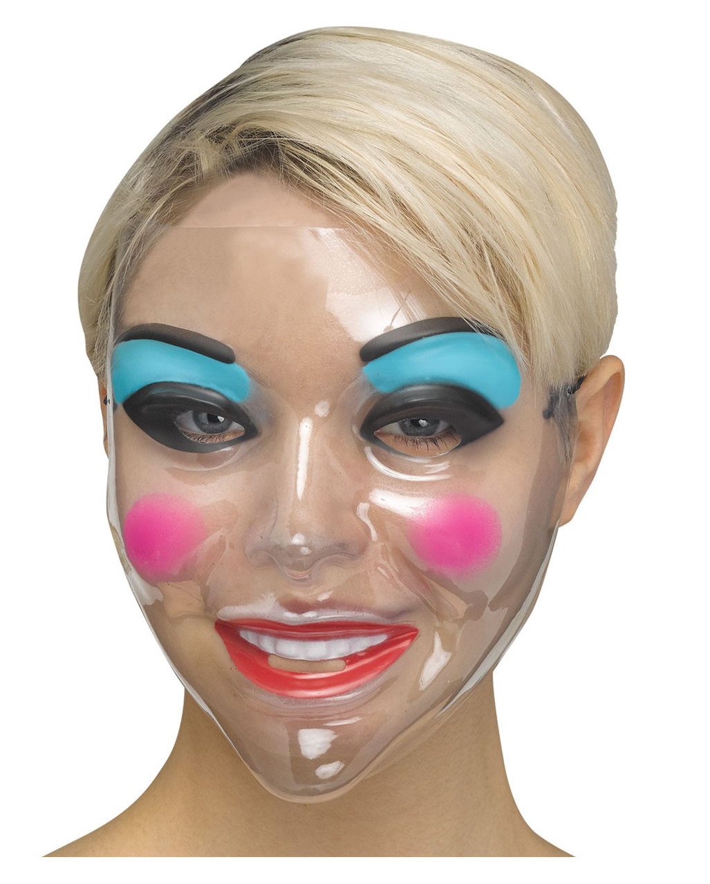 Klare Make Up Frauen Maske Faschingsmaske Horror Shop Com