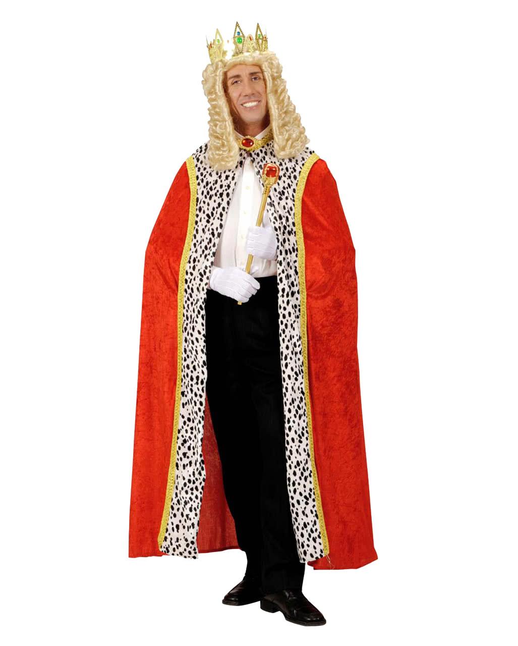 Royal Robe With Ermine Of Royal Royal Cloak Of Velvet Horror Shop Com