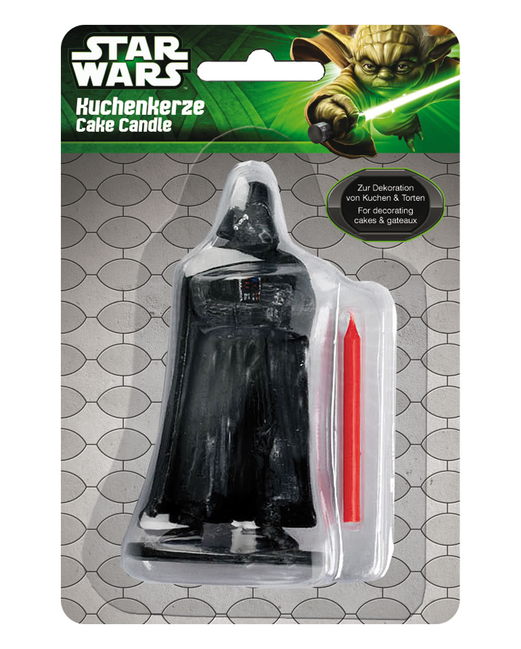Star Wars Birthday Cake Candle Darth Vader