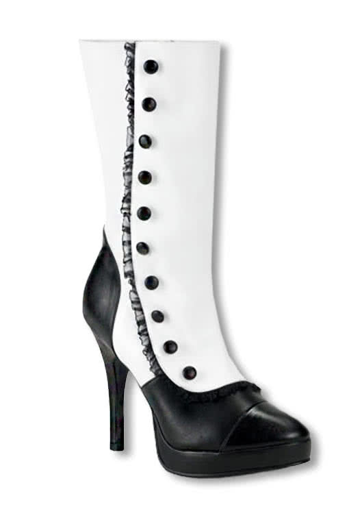 Plateau Boots white Carnival everyday