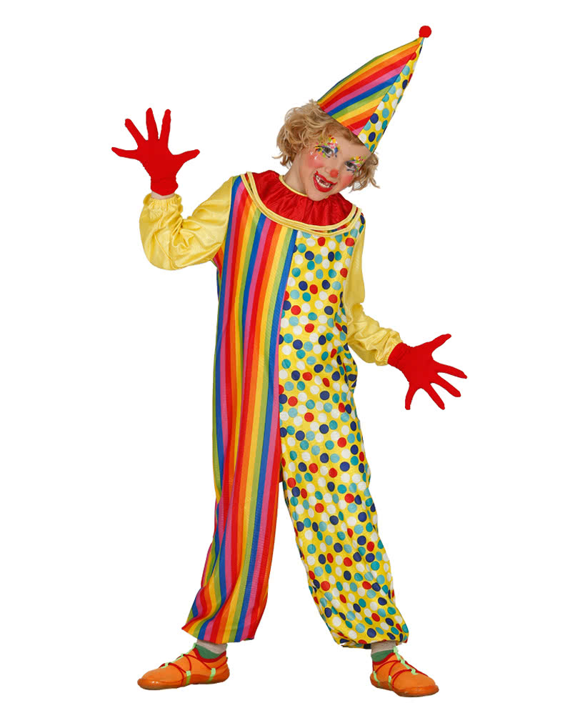 funny clown costume dress up kids as a clown horror. Black Bedroom Furniture Sets. Home Design Ideas