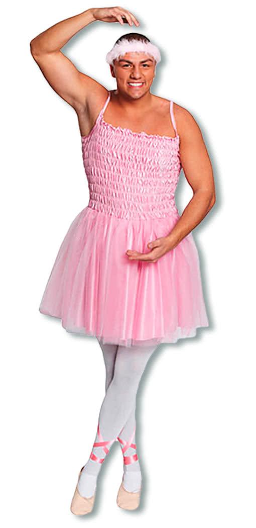 m nner ballerina kleid pinkes herrenballett kost m. Black Bedroom Furniture Sets. Home Design Ideas