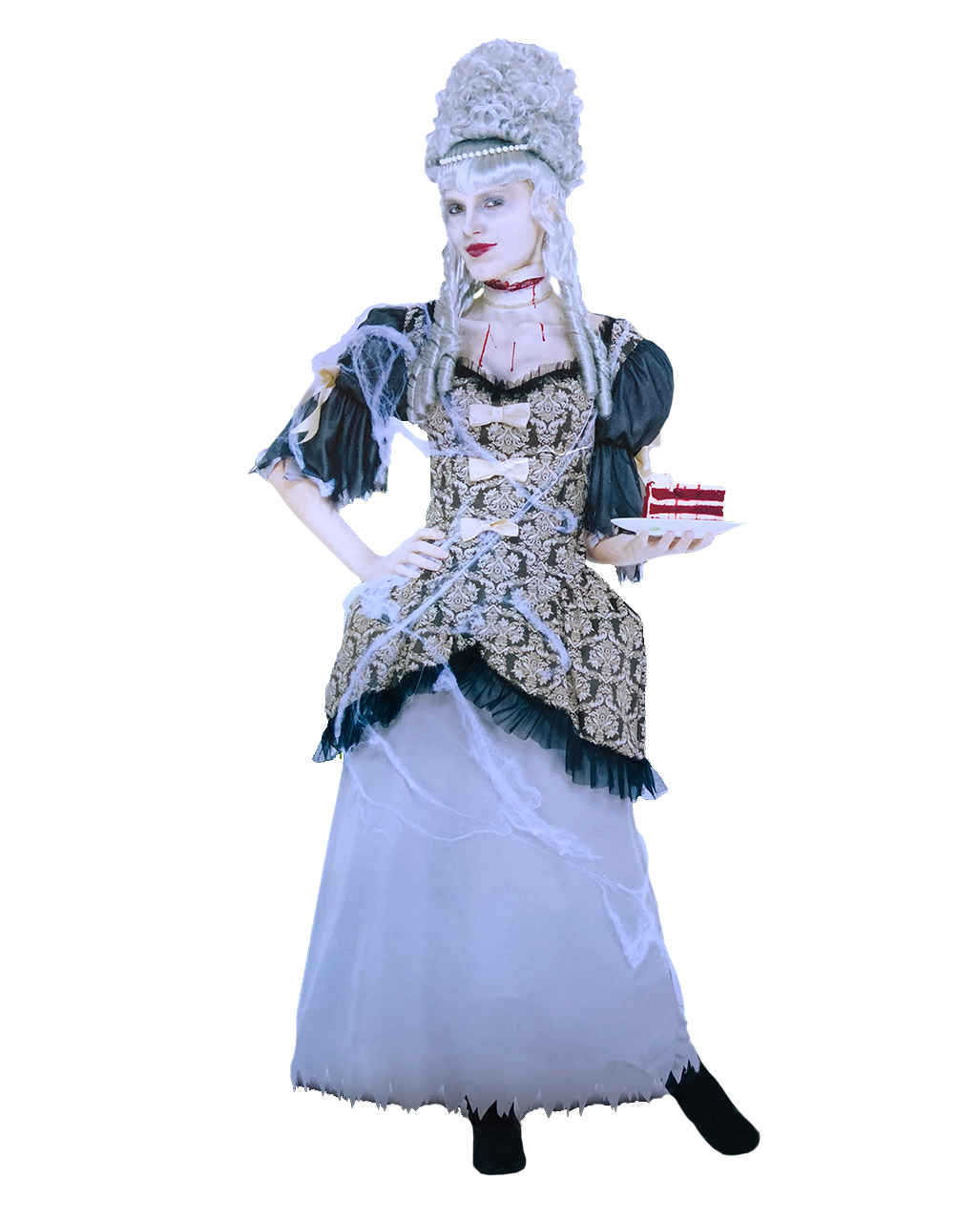 marie antoinette ghost costume s buy historical costumes horror. Black Bedroom Furniture Sets. Home Design Ideas