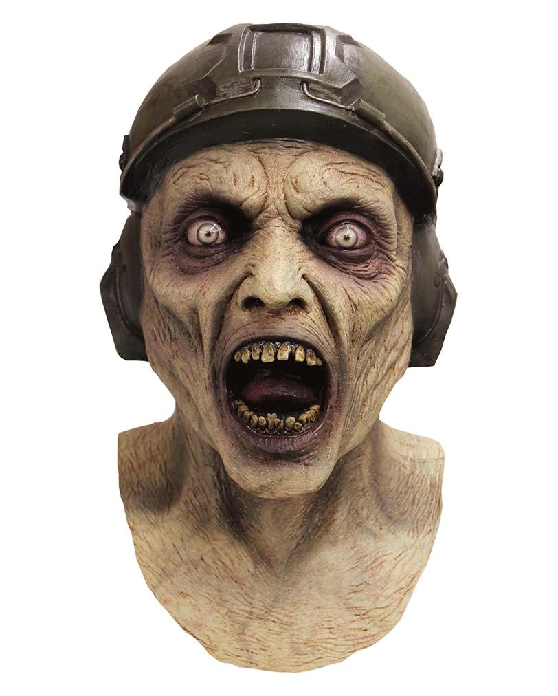 zombie piloten maske realistische untoten vollmaske. Black Bedroom Furniture Sets. Home Design Ideas