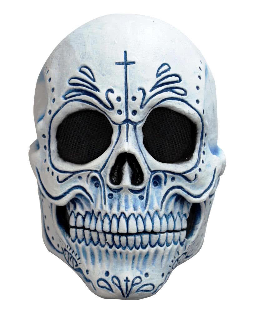 Mexikanische Totenkopf Maske Dia De Los Muertos Maske Horror
