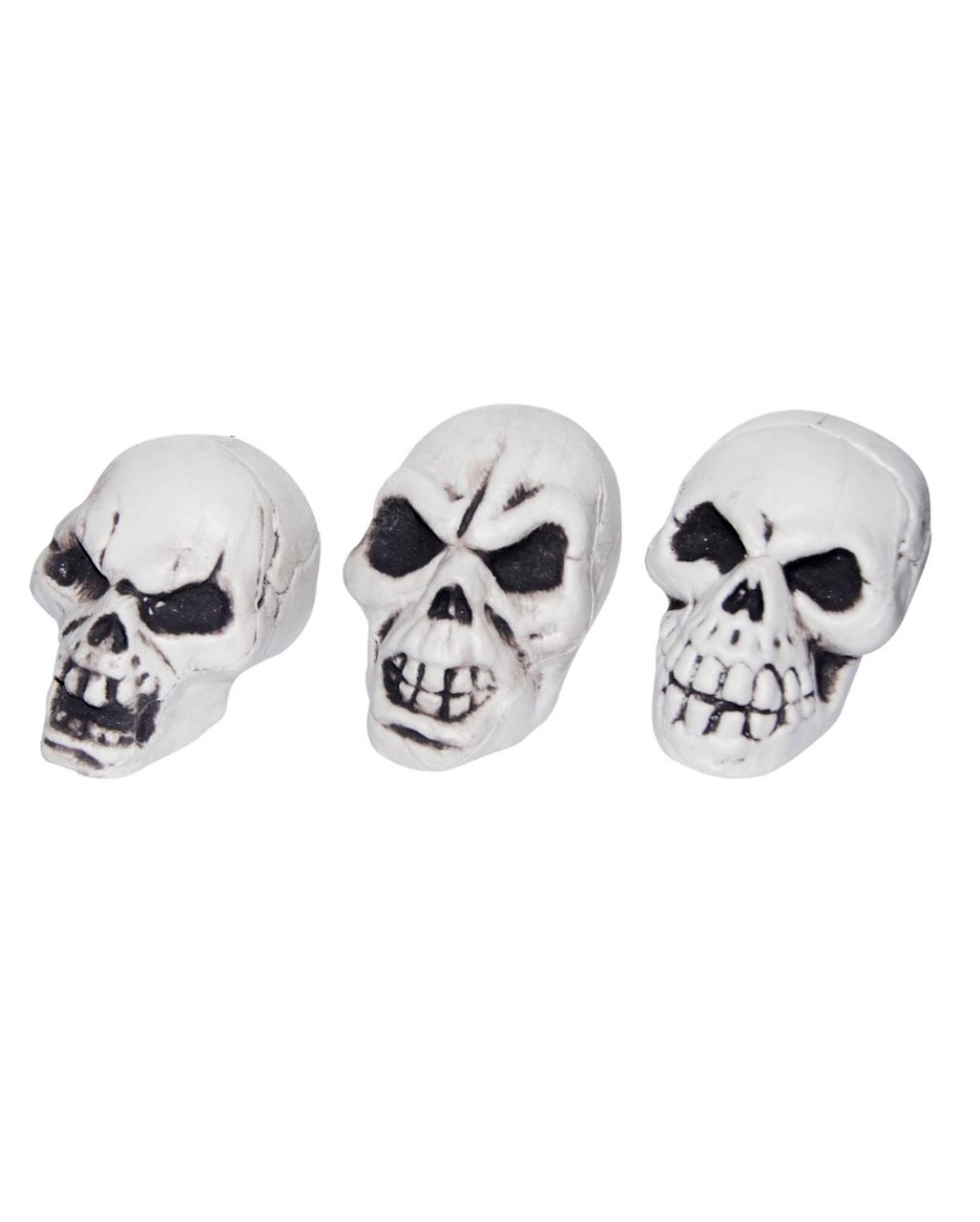 25 cm als Halloweendeko Zubehör Halloween Fasching Totenschädel Totenkopf ca