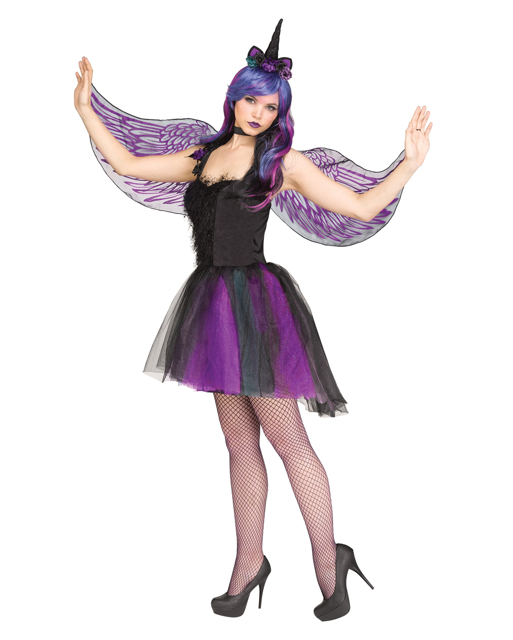 Mythical Creatures Halloween Costumes.Moonlight Unicorn Costume