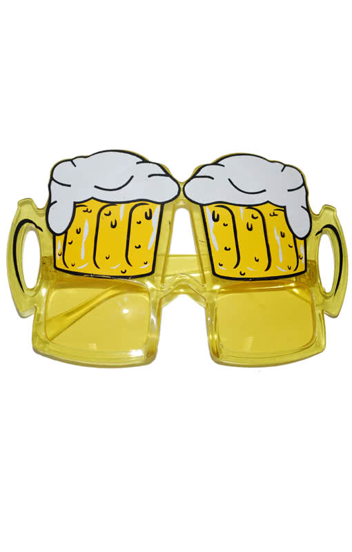 oktoberfest beer mug glasses plastic eyeglasses in jug. Black Bedroom Furniture Sets. Home Design Ideas