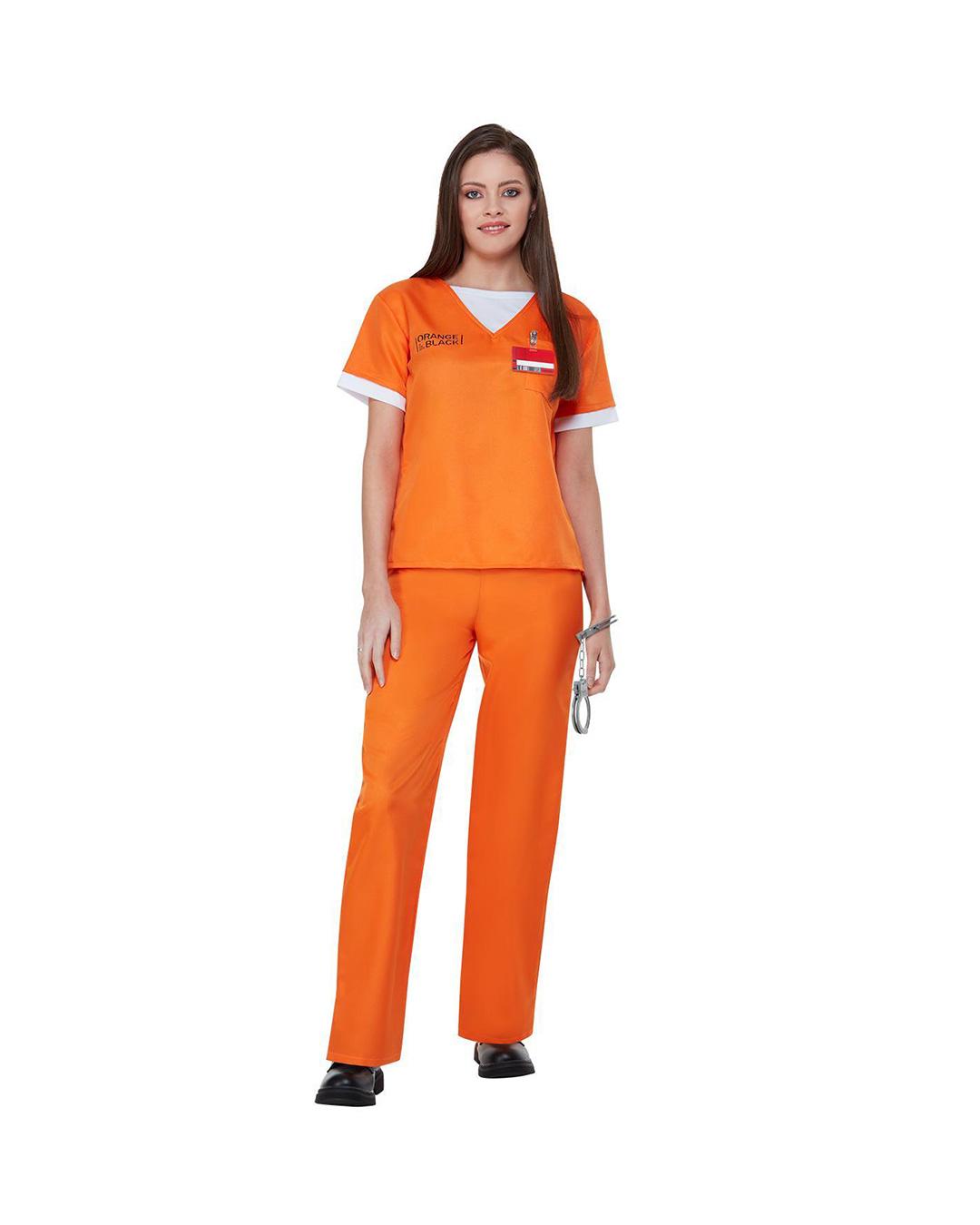 Orange Is The New Black Prison Uniform For Fans Horror Shop Com