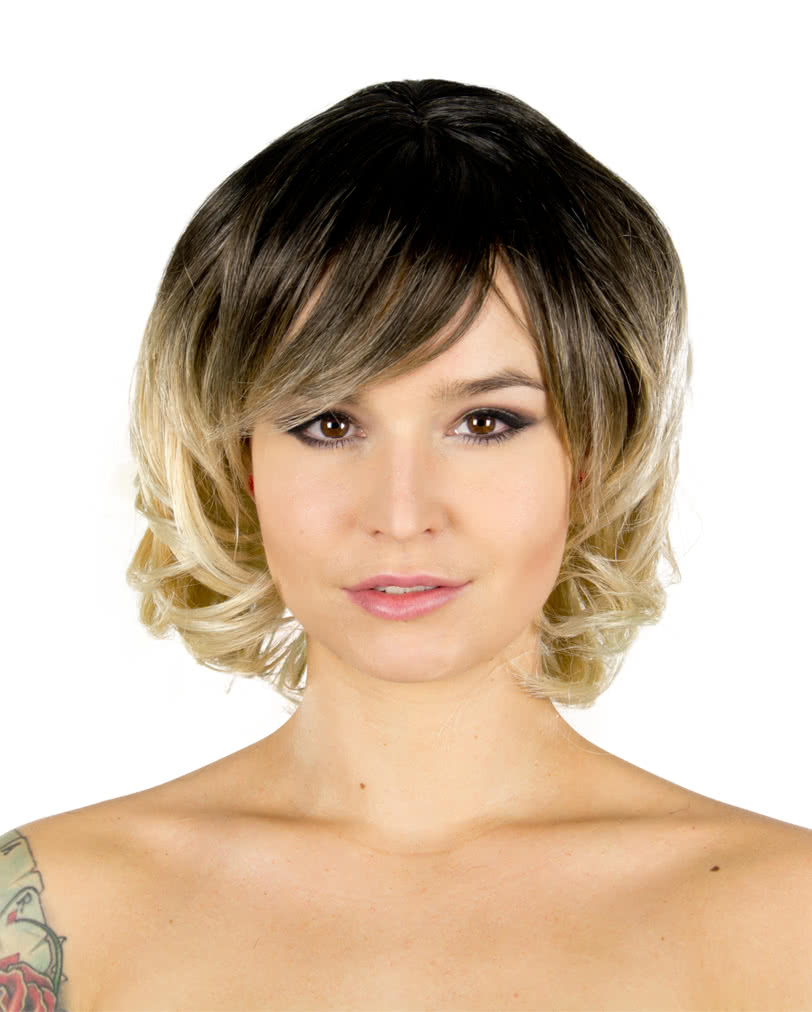 wig chantel brown blond ladies wigs best price online. Black Bedroom Furniture Sets. Home Design Ideas