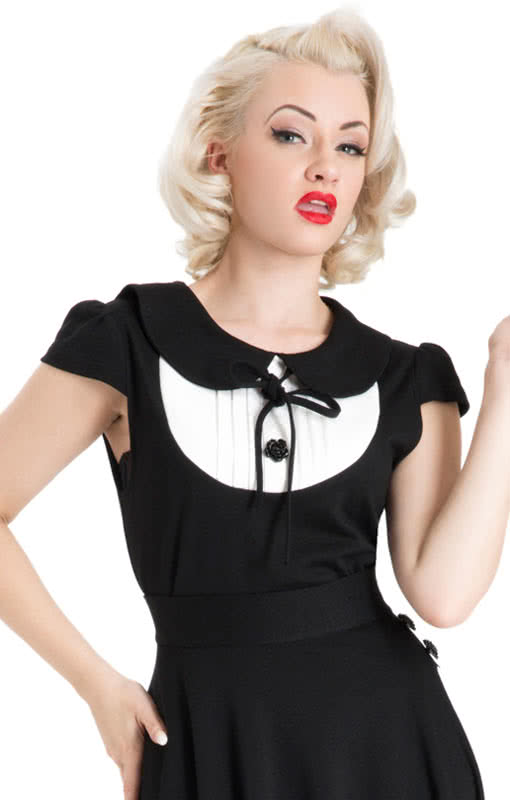 50er jahre peter pan top 50s top pinup shirt vintage. Black Bedroom Furniture Sets. Home Design Ideas