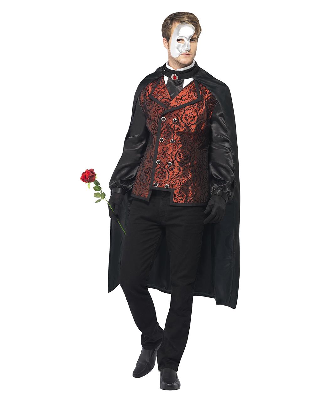 Phantom Of The Opera Costume Noble Phantom Costume For Men Horror Shop Com