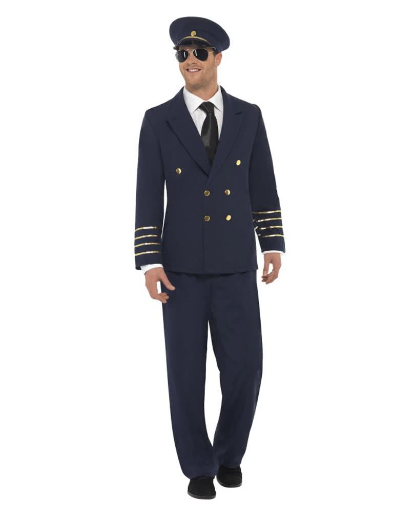 jacket Pants Hat xxl - Mens Costume Sailor Fancy Dress Men/'s Navy Captain