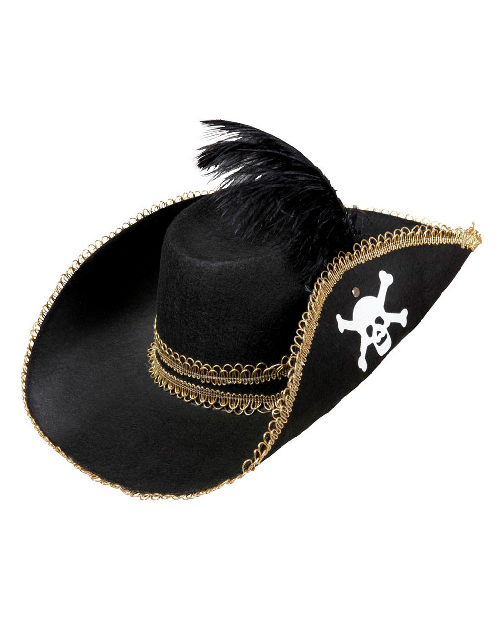 how to make a pirate hat from felt