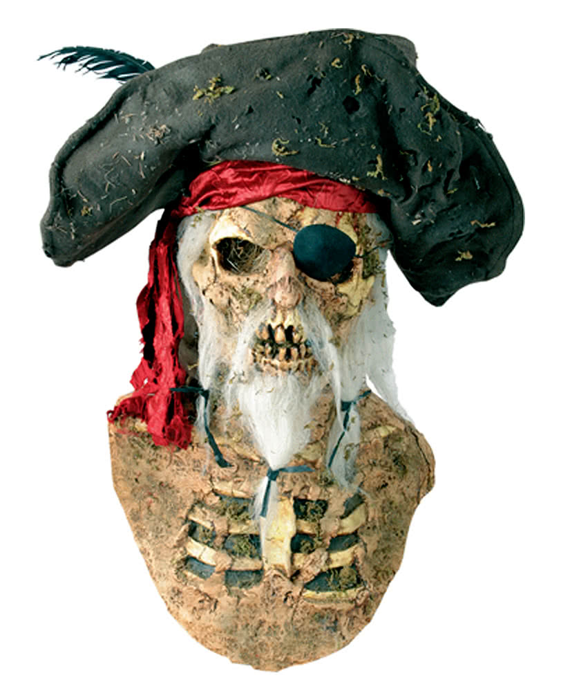 pirate mask with hat corsair latex mask horror. Black Bedroom Furniture Sets. Home Design Ideas