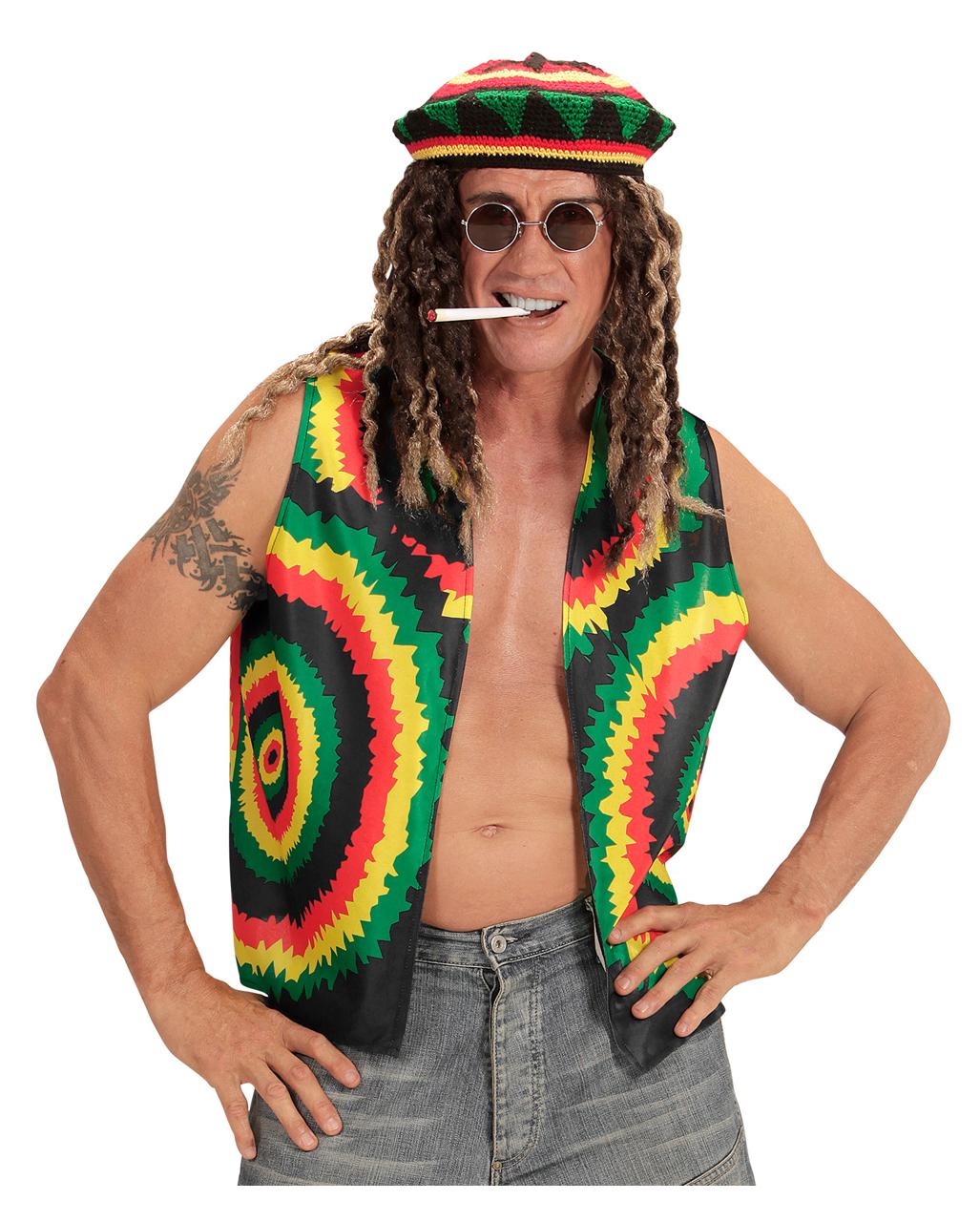 Rastafari Dreadlock Perücke Unisex