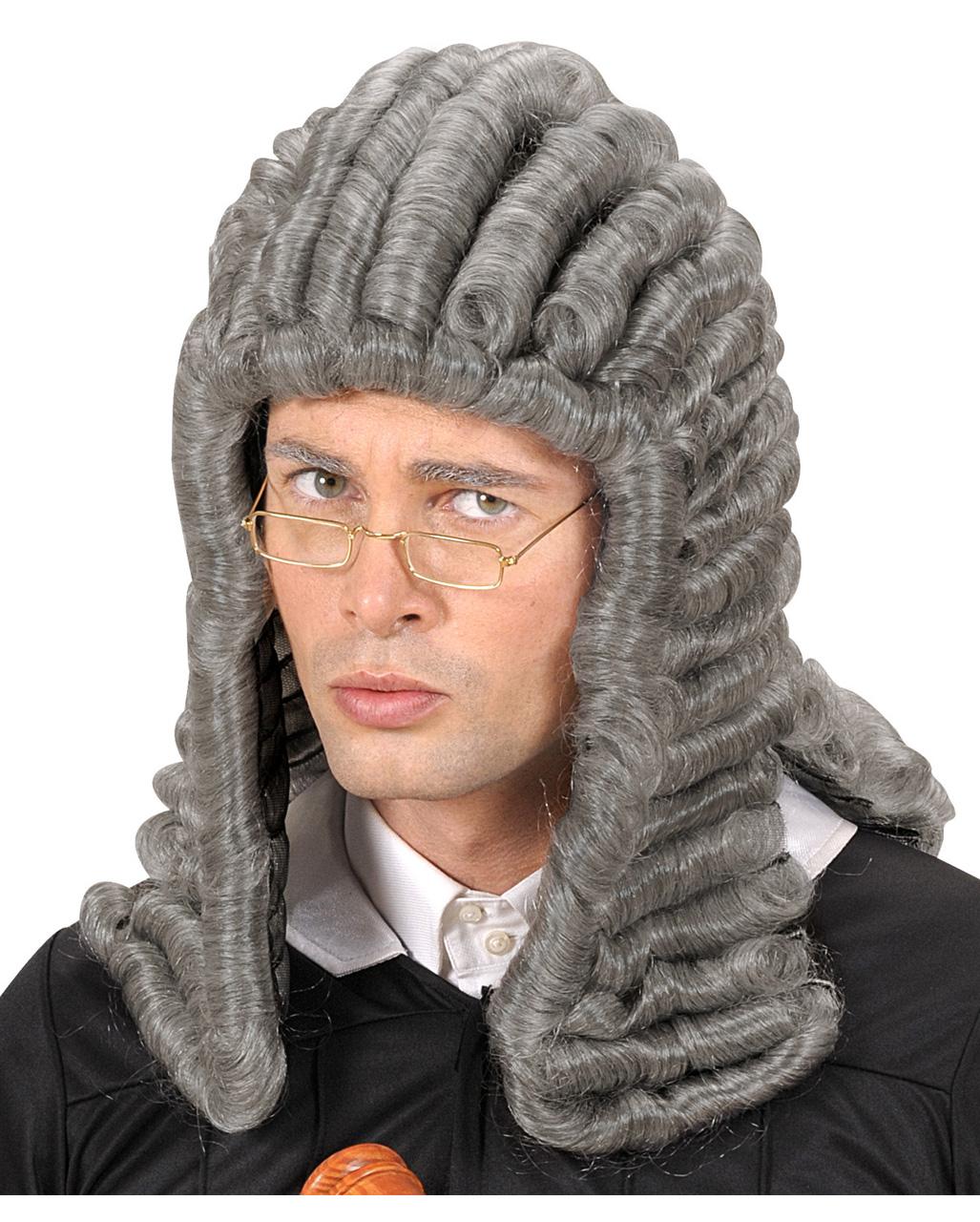 Judge Wig Grey | Buy Historic wigs | horror-shop.com