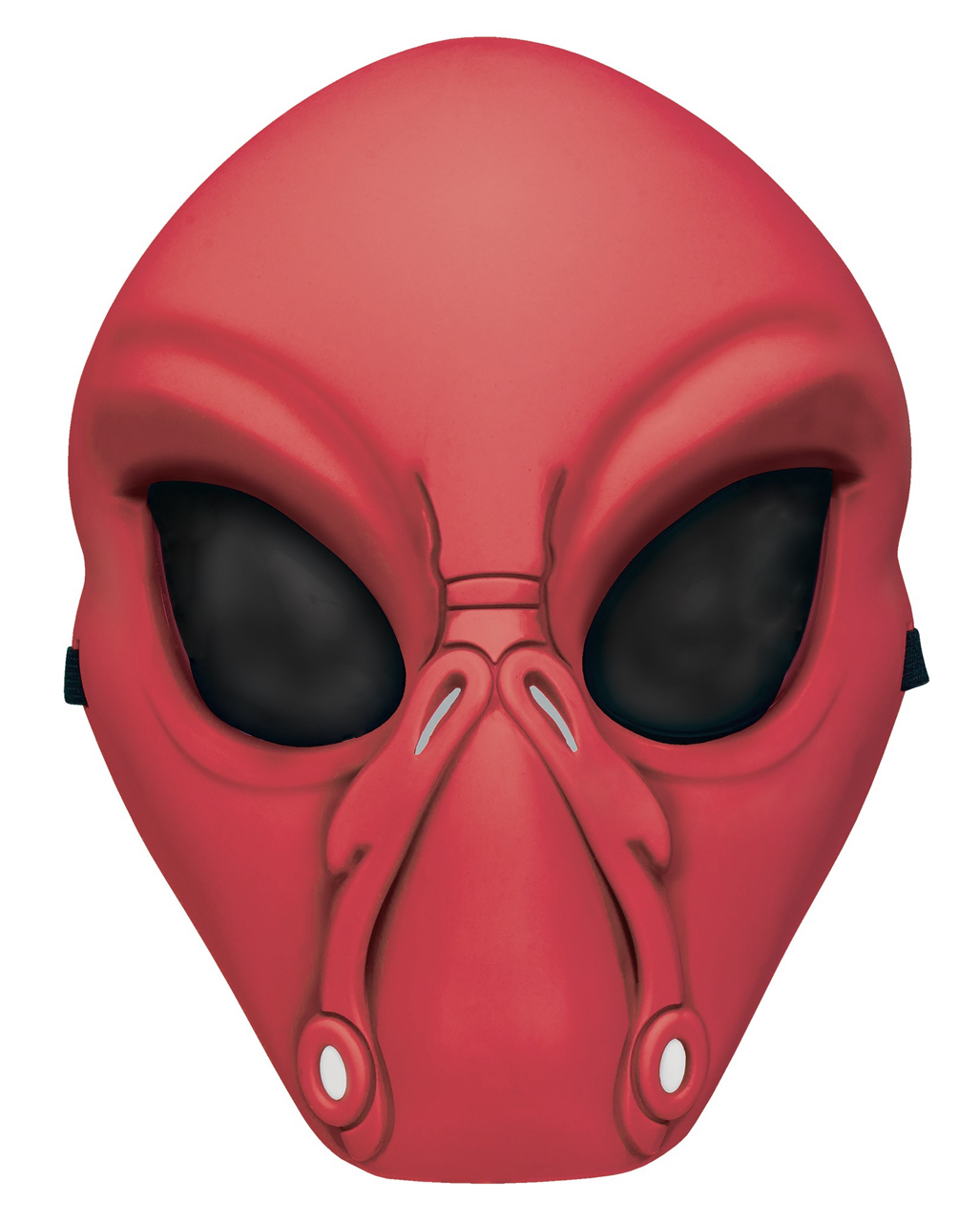 buy cheap save off great quality Rote Alien Halbmaske