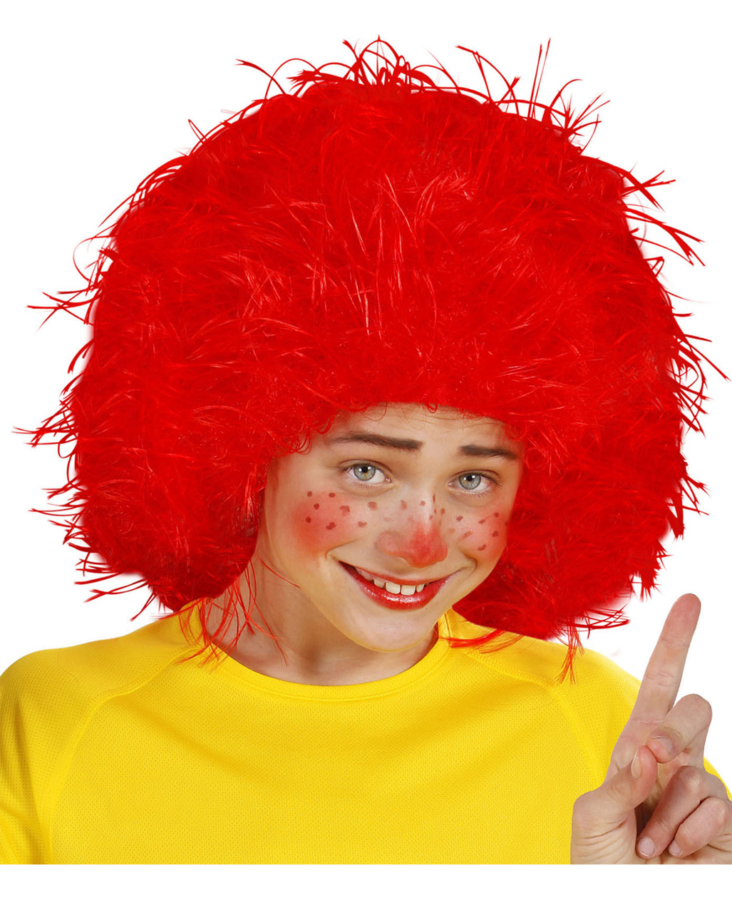 Red Goblin Wig For Carnival & Carnival