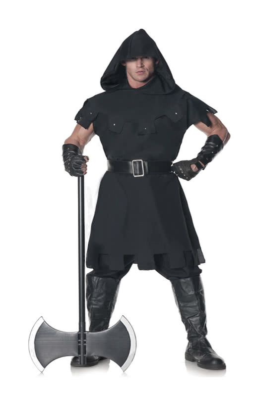 executioner men costume xl xxl executioner costume. Black Bedroom Furniture Sets. Home Design Ideas