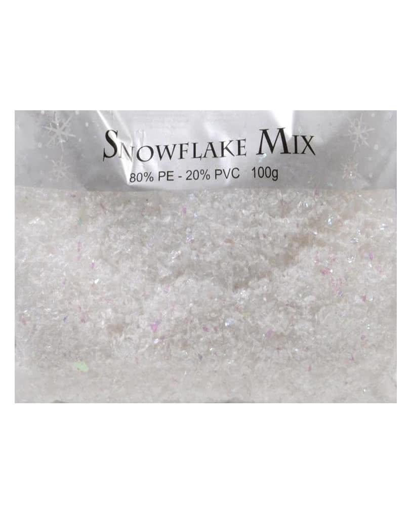 Schneeflocken 100g Schnee Flocken